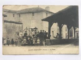 SAINT - SAUVANT ( Vienne ) - Le Puits - France