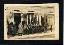 CPA Hérault 34 Saint Chinian Commerce Shop Front Bourrelier Non Circulé Carte Photo RPPC - France