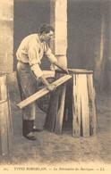Types Bordelais - La Fabrication Des Barriques - Tonnelier - Cecodi N'1481 - Bordeaux