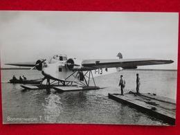 IDROVOLANTE HYDRAVION FOKKER T4  Cartolina Originale Dell'epoca - 1939-1945: 2ème Guerre