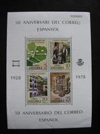 Andorre Espagnol: BF N°1, Neuf XX. - Andorre Espagnol