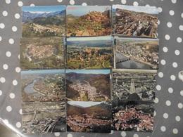 LOT DE 75  CARTES POSTALES CPM CPSM  VUES AERIENNES   DE FRANCE - Cartes Postales