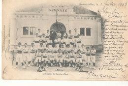 88 // RAMBERVILLERS    Gymnase  ** - Rambervillers