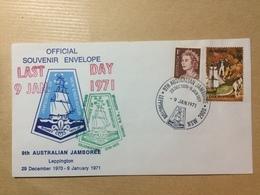AUSTRALIA - 1971 Cover - 9th Australian Scot Jamboree - Leppington NSW - With `Last Day` Cachet - 1966-79 Elizabeth II