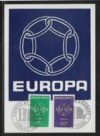 France Europa - Conseil De L'Europe - 1959 - Document - 1959