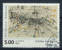 France, Maria Helena Vieira Da Silva, Portuguese Abstractionist Painter, 1993, VFU - France