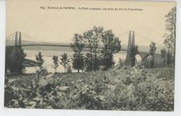 PAIMPOL (environs) - Le Pont Suspendu De LÉZARDRIEUX - Paimpol