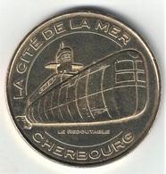 Monnaie De Paris 50.Cherbourg - Cité De La Mer 9. Redoutable Tribord 2012 - Monnaie De Paris