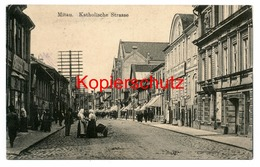 Mitau 1916, Katholische-Strasse Nach Hamburg - Latvia