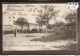 1058  FRD13 AK/PC/CPA FONTVIELLE CHAMP DE FOIRE ET JEUX DE BOULES/1916/TTB - Fontvieille