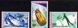 Bénin P.A. N°  248 / 50 X  Jeux Olympiquies D'hiver, à Innsbruck Les 3 Valeurs Trace De Charnière Sinon TB - Bénin – Dahomey (1960-...)