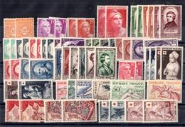 France Belle Collection De Bonnes Valeurs Neufs ** MNH 1945/1955. TB. A Saisir! - France