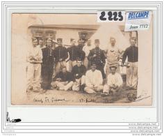 8411 AK/PC/CARTE PHOTO /2223/GROUPE MILITAIRE/JUILLET 1907 - La Courtine