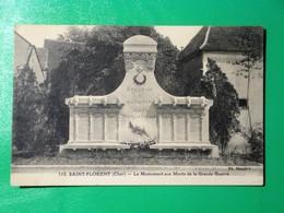 SAINT FLORENT Sur CHER - Le Monument Aux Morts De La Grande Guerre - Saint-Florent-sur-Cher