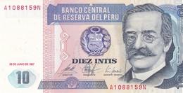 8 BILLETS PEROU / NEUFS / 1X10/1X100/3X500/3X1000 - Pérou
