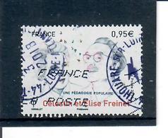 France Celestin Et Elisz Freinet-cachet Rond - France