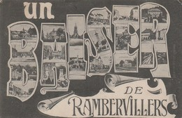 88 - UN BAISER DE RAMBERVILLERS- Voir Scan - - Rambervillers