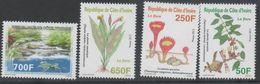 IVORY COAST ,2013,MNH, PLANTS, FLORA, TURTLES, WATERFALLS, ENVIRONMENT PROTECTION, 4v, SCARCE - Turtles