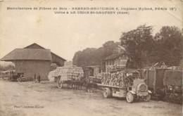 27 - LA CROIX SAINT LEUFROY - Manufacture De Fibres De Bois Armand Hautcoeur - Usine Camion Gare Chargement - Frankreich