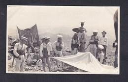 Photo Originale Asie Chine Mandchourie Guard For Protective Purposes On Interior Travel Armee Japonaise ? - Guerra, Militari