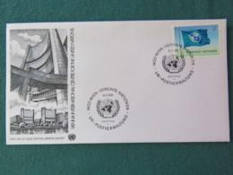 United Nations (Wien) 1979 FDC Cover - Flag - Centre International De Vienne