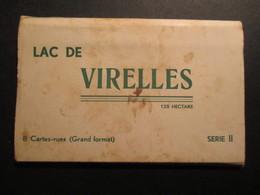 CARNET 8 CP BELGIQUE (V1823) Lac De VIRELLES (14 Vues) 125 Ha Série II - Belgique