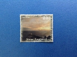 NUOVA ZELANDA NEW ZEALAND CAPE REINA FARO 20 C FRANCOBOLLO USATO STAMP USED - Nuova Zelanda