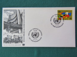 United Nations (Wien) 1979 FDC Cover - Flags - Centre International De Vienne