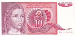 10 DINAR 1990/ NEUF - Yugoslavia