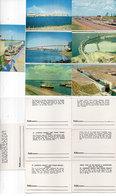 7 Illustrations - Bateaux Ecluses - Barrages ....  (110637) - Schiffe
