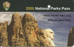 NATIONAL PARKS PASS - USA - 2005 - Autres Collections