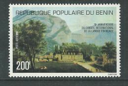 Bénin PA  N° 267 X 10ème Anniversaire Du Conseil International De La Langue Française Trace De Charnière Sinon TB - Bénin – Dahomey (1960-...)