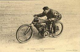 Les Sports  -  Nos Motocyclistes  -  MARIUS THE  -  CPR - Motos