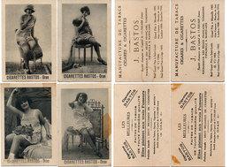 """4 Publicités Des Cigarettes """"Bastos"""" Oran - Pin-Ups  ..  (110640) - Publicités"""