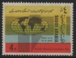 Saudi Arabi (K.S.A.) 1971 World Telecommunications Day-Journée Mondiale Télécommunications  ** - Arabie Saoudite