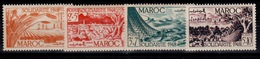 Maroc - YV 271 à 274 N** Complete Solidarite Cote 7+ Euros - Maroc (1891-1956)
