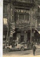 Automobile A Paris L'Olympia  -  CPR - Motos