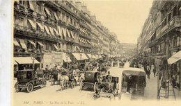 Automobiles A Paris  -  La Rue De La Paix  -  CPR - Motos