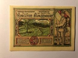 Allemagne Notgeld Kunzendorf 50 Pfennig - [ 3] 1918-1933 : République De Weimar