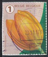 Belgique 2016 Oblitéré Used Flower Fleur Tulip Tulipe SU - Belgique