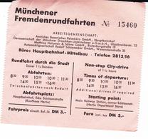 PIE-VPT-18-067 :  VOYAGE EN AUTOCAR A MUNICH.. MÜNCHENER FREMDENRUNDFAHRTEN. - Bus