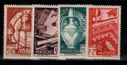 Maroc - YV 288 à 291 N** Complete Solidarite Cote 10+ Euros - Maroc (1891-1956)