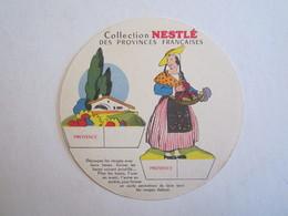 Chromo Chromos Collection Nestlé Provinces Françaises Provence Folklore - Nestlé