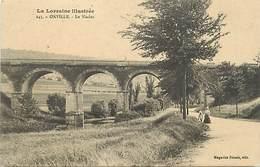 -depts Div.-ref-572- Meurthe Et Moselle - Onville - Le Viaduc - Viaducs - Carte Bon Etat - - France