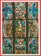 """Bonn, Ev. Kreuzkirche, Chor-Fenster """" Die Geburt Jesu """" (H.v. Stockhausen) - Eglises Et Cathédrales"""