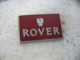 Pin's Embleme Des Automobiles ROVER - Badges