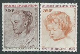 Bénin PA  N° 283 / 84 X 400ème Anniversaire De La Naissance De P.P. Rubens.  Les 2 Valeurs Trace De Charnière Sinon TB - Bénin – Dahomey (1960-...)