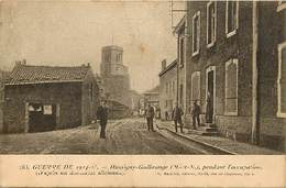 -depts Div.-ref-566- Meurthe Et Moselle - Hussigny Godbrange Pendant L Occupation - Militaires - Guerre 1914-18 - - France