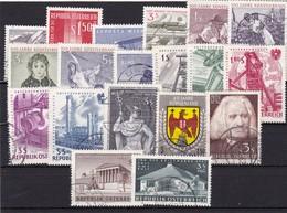 Österreich, Kpl. Jahrgang 1961, Gest. (T 9034) - Ganze Jahrgänge