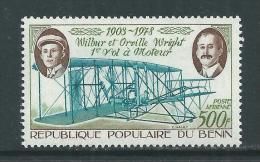 Bénin PA  N° 291 X 75ème Anniversaire Du 1er Vol à Moteur Des Frères Wright  Trace De Charnière Sinon TB - Bénin – Dahomey (1960-...)